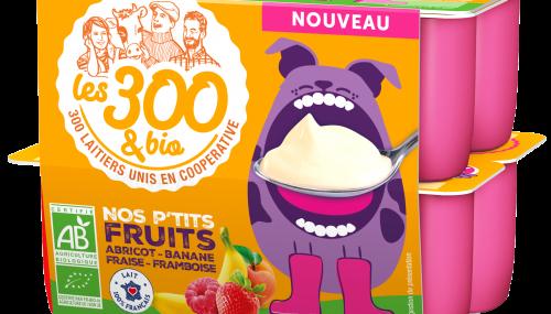 Yaourt Abricot Les 300&Bio