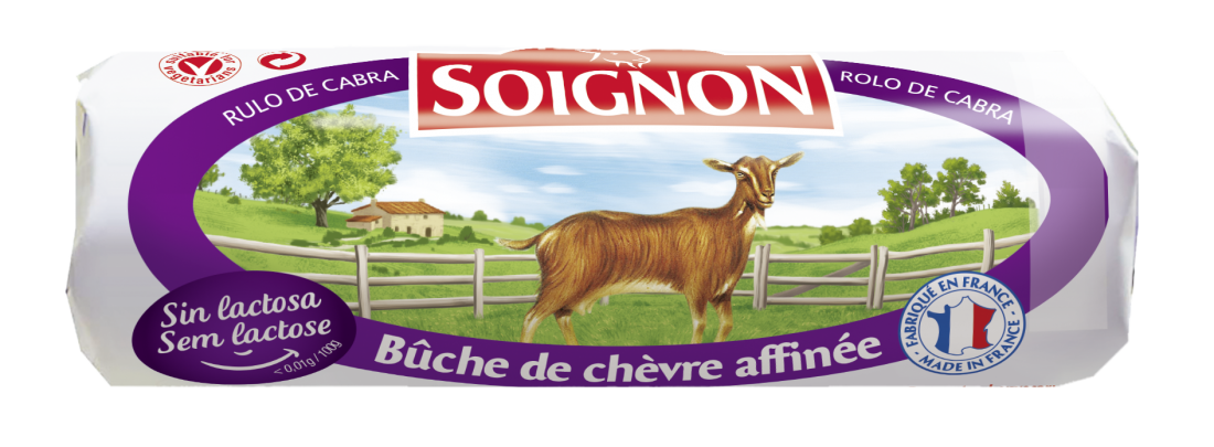 Buche Soignon sans lactose