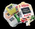 5 Minis mix Pavé d'Affinois