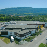 Vue aérienne usine Belley