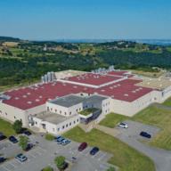 Vue aérienne usine Pélussin