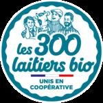 Logo Les 300 laitiers bio - 2021