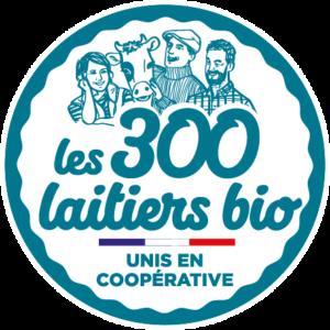 Nouveau logo 2021 - Les 300 laitiers bio