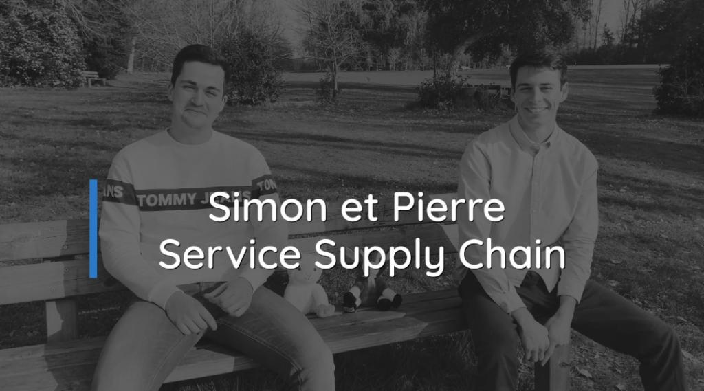 Simon et Pierre alternants Supply Chain
