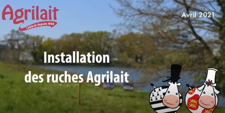 Agrilait - Ruches Biodiversité
