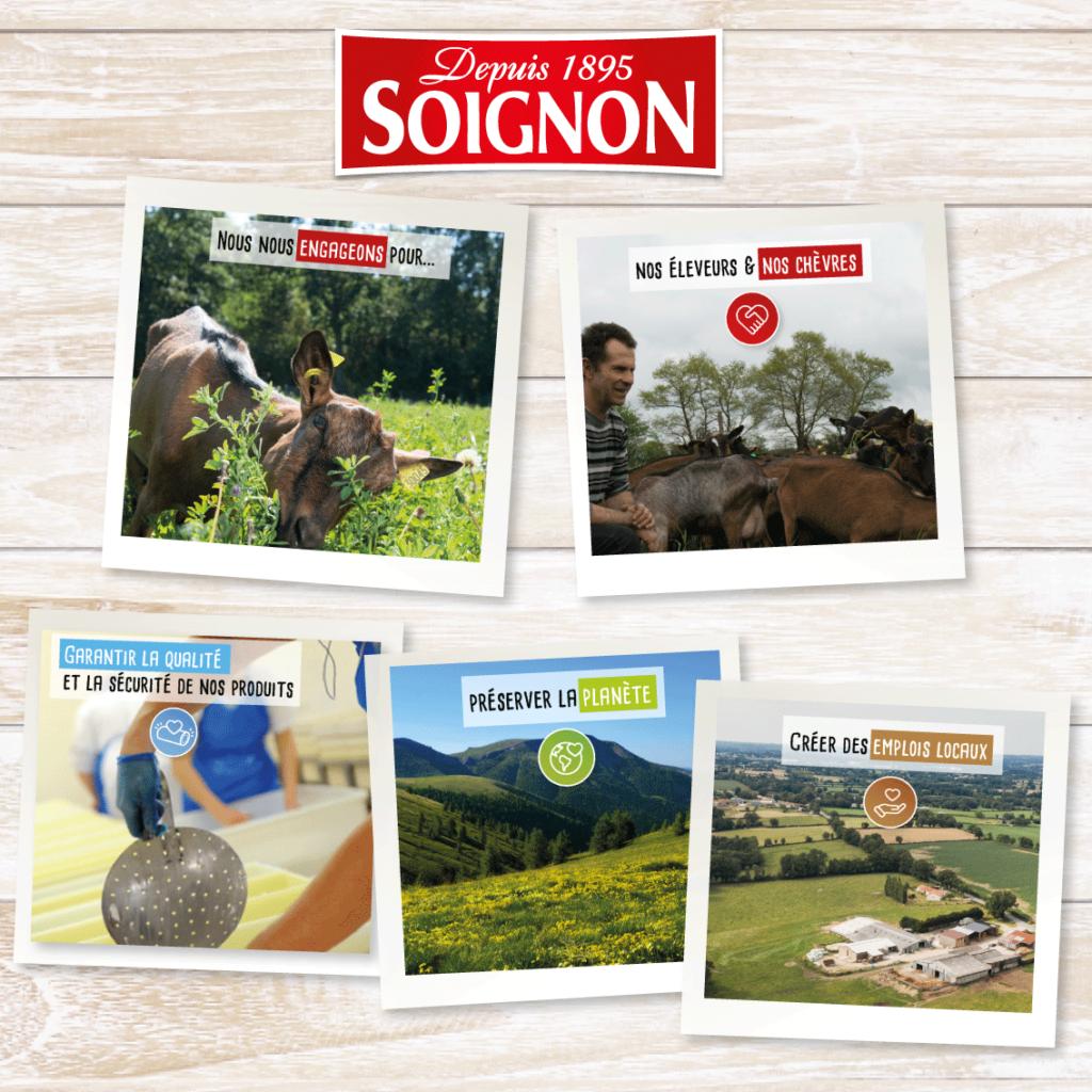 Soignon--engagements